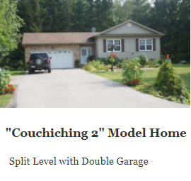 Couchiching 2 Model Home